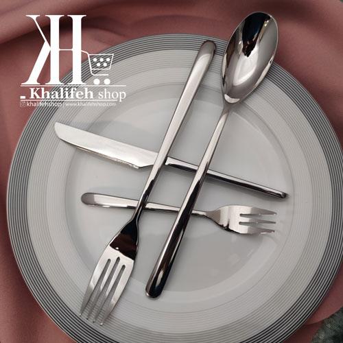 سرویس قاشق و چنگال غذاخوری 30 نفره 145 پارچه s.g طرح برمن